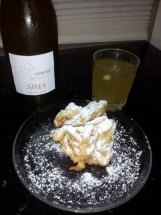 Mead and funnel cakes